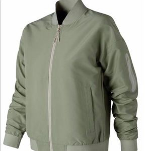 Mint Green New Balance Bomber Jacket